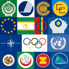 International Organisation Flags
